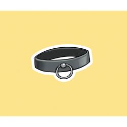 Collar sticker