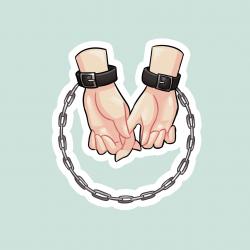 Cuffs sticker